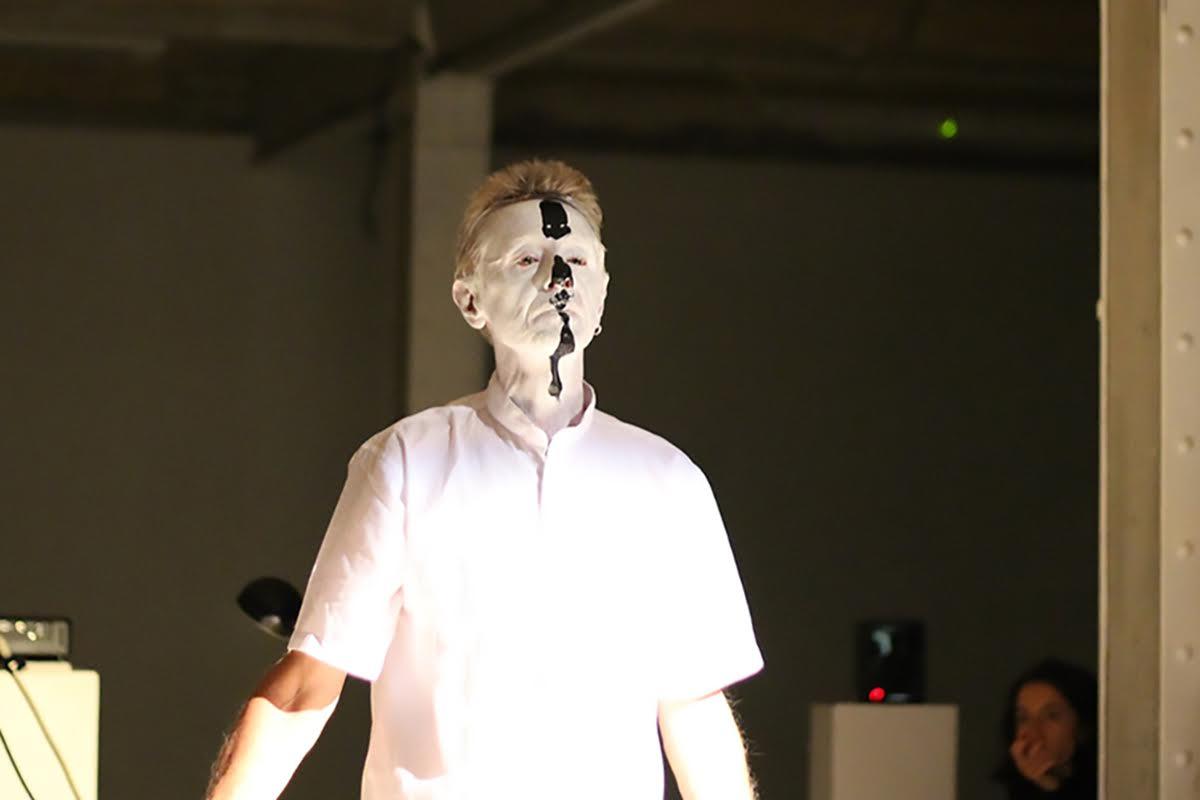 Roberto Rossini, Locul Solus, azione estetico rituale, COFFI Festival, Berlino 2017