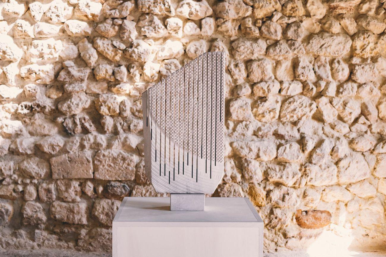 Sciola. Madre Pietra la natura la scultura. Exhibition view at Castello San Michele, Cagliari 2021. Photo Consorzio Camù