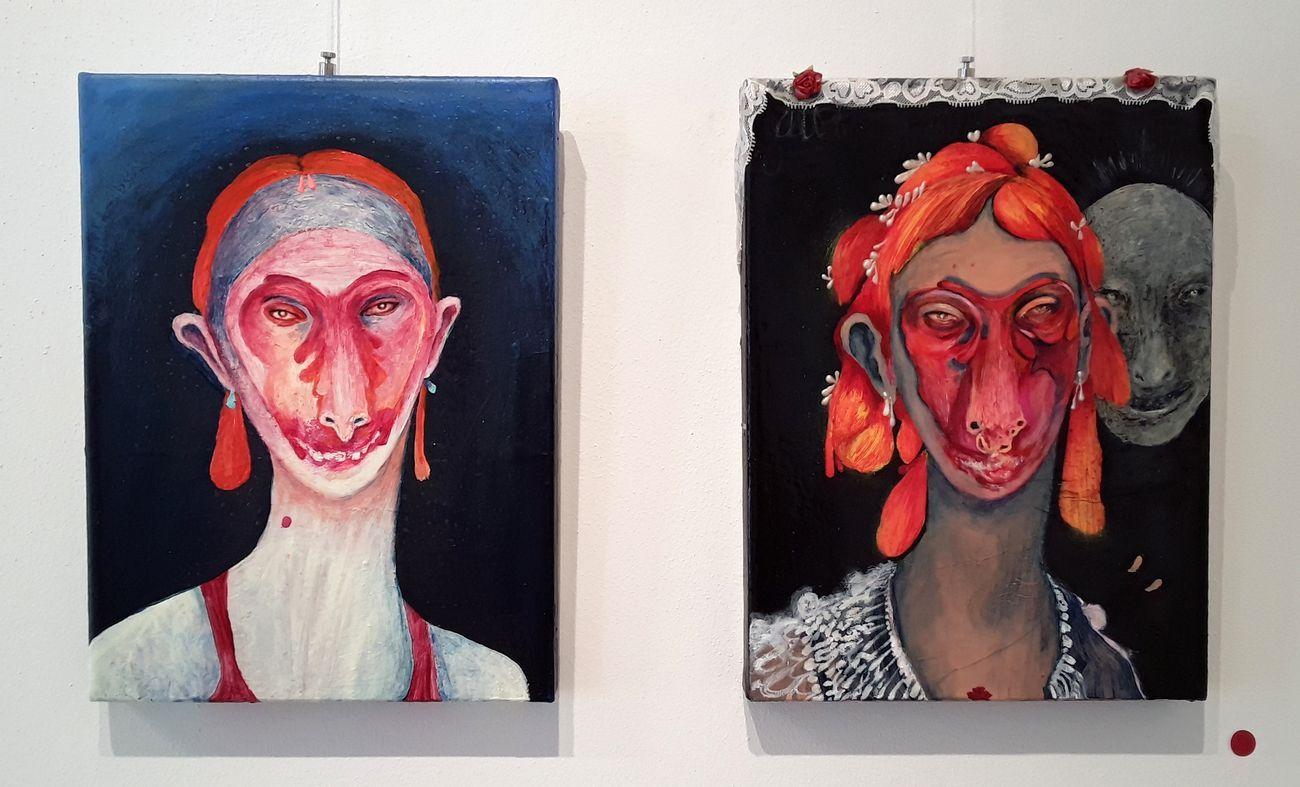 Silvia Mei. Dolcissime nevrosi. Exhibition view at ArteCircuito, Sassari 2021