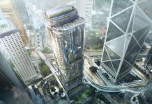 The Henderson, Hong Kong by Zaha Hadid Architects for Henderson Land Render by Arqui