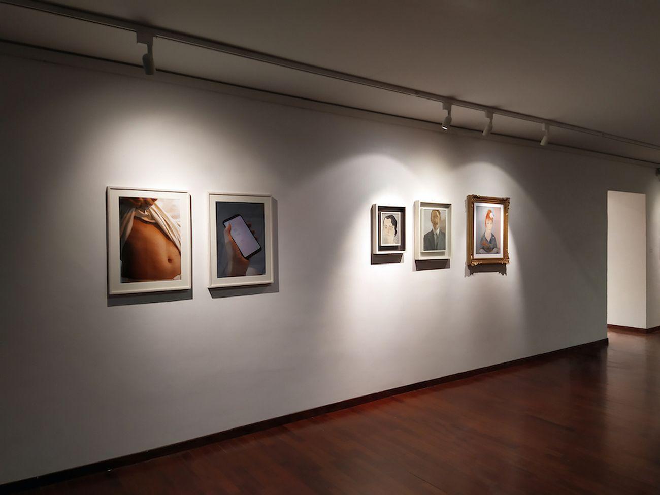 Un posto come un altro dove appendere il cappello. Exhibition view at Galleria Osvaldo Licini, Ascoli Piceno 2021