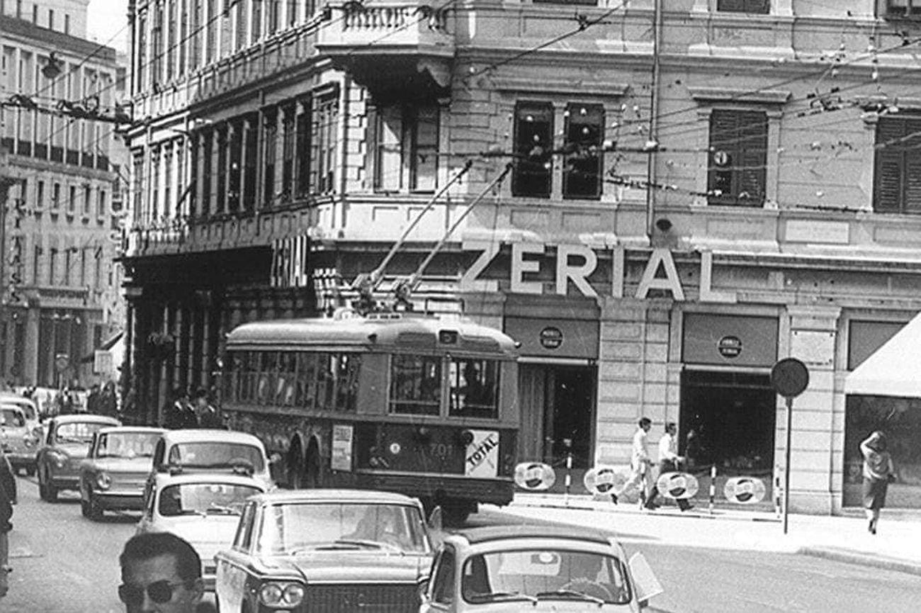 Una via di Trieste negli anni '60