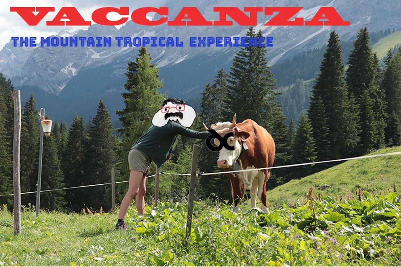 VACCANZA. The Mountain Tropical Experience. Fondazione Malutta in Dolomiti Contemporanee