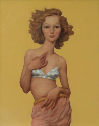 John Currin, Pellettiere, 1996. Laura and Stafford Broumand Collection