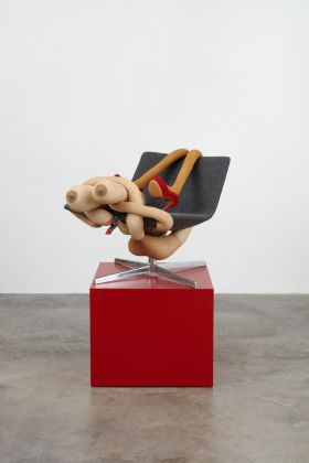 Sarah Lucas, MRS NICUBATOR, 2019. © Sarah Lucas. Courtesy the artist, Gladstone Gallery, New York and Brussels, and Sadie Cole