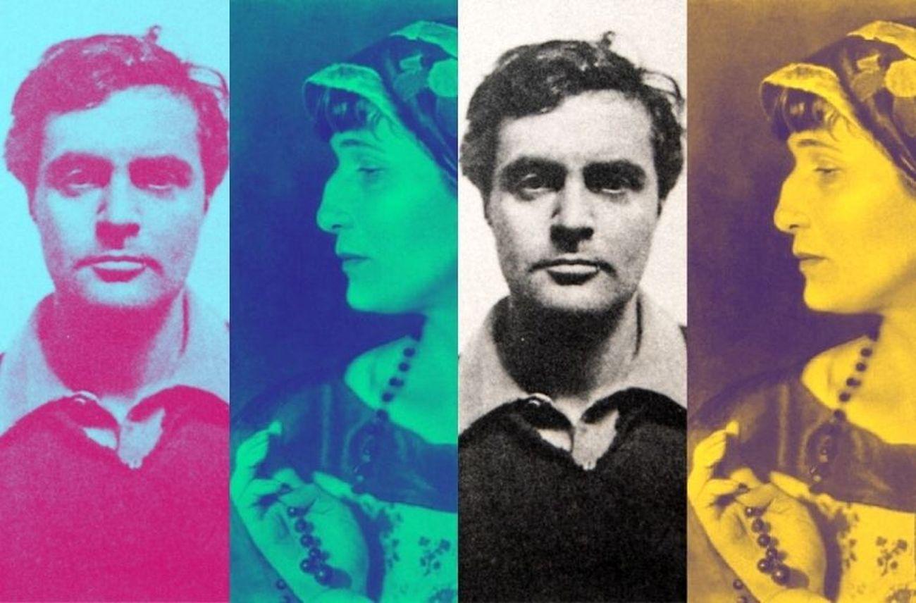 Amedeo Modigliani e Anna Achmatova