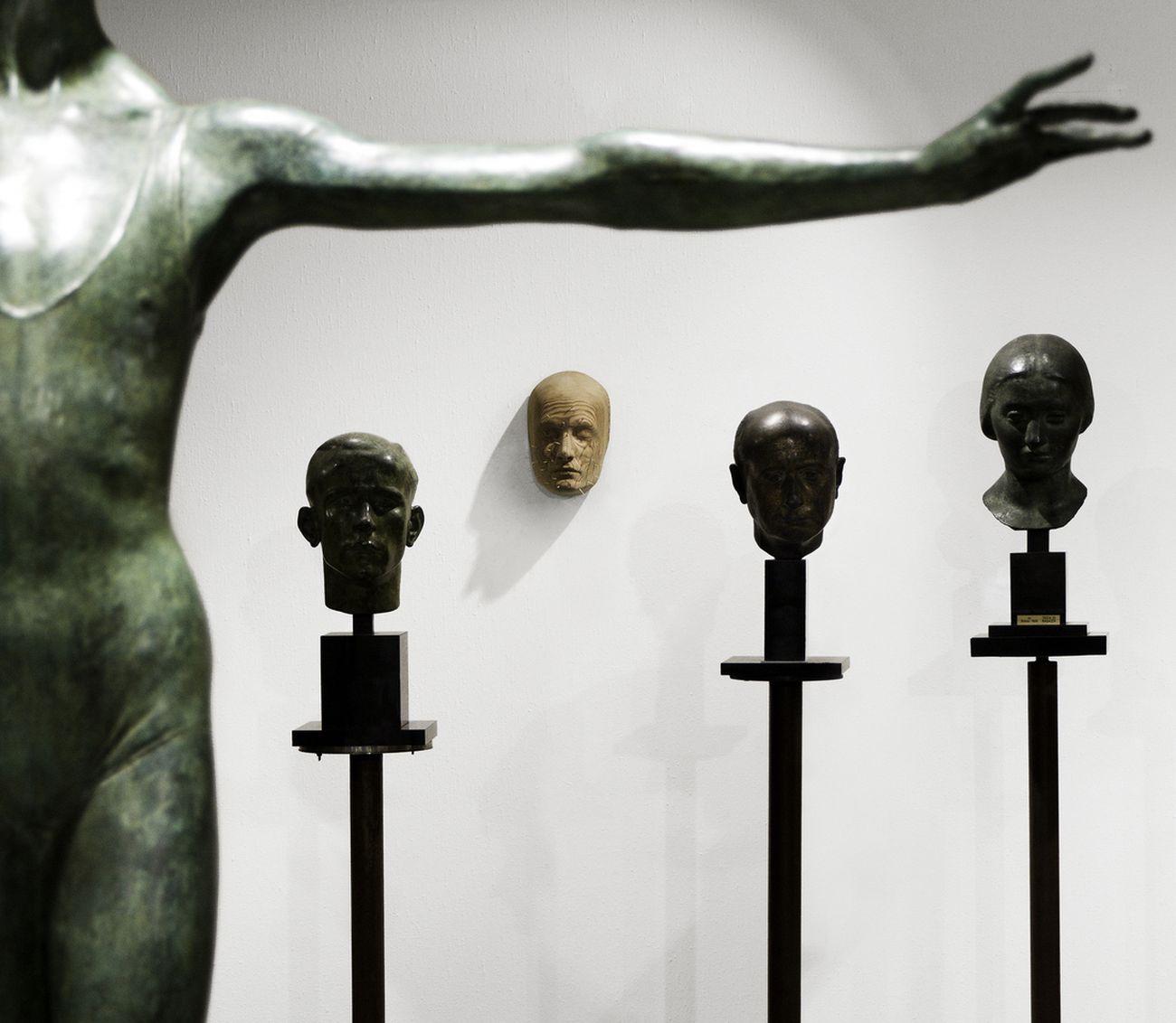 Andreas Senoner. Transitory Bodies. Installation view at Museo Francesco Messina, Milano 2021