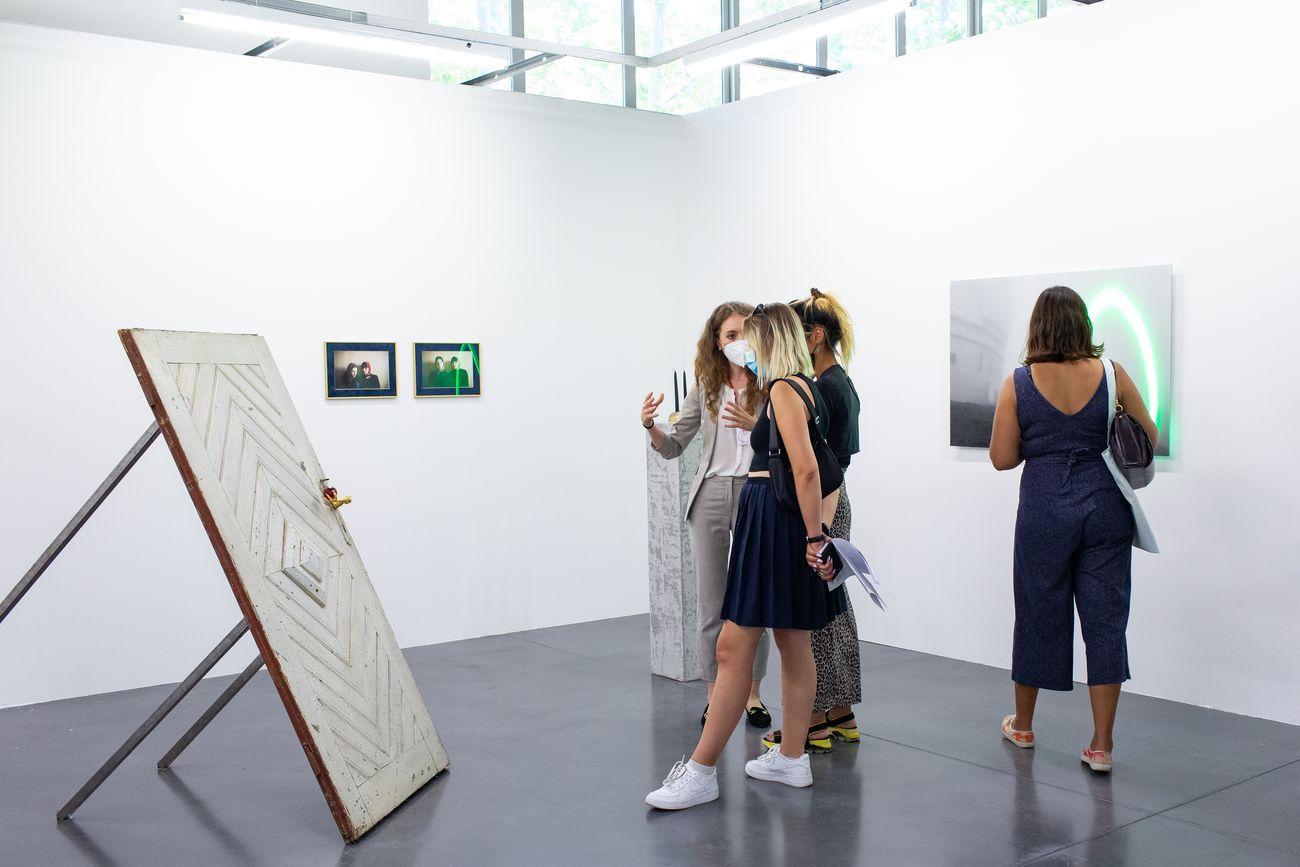 Art-o-rama 2021. Galerie Catinca Tabacaru. Photo © Margot Montigny