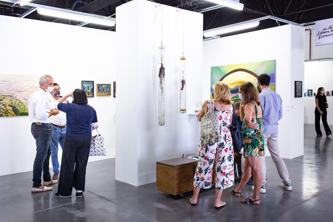 Art-o-rama 2021. Galerie In Situ fabienne leclerc. Photo © Margot Montigny