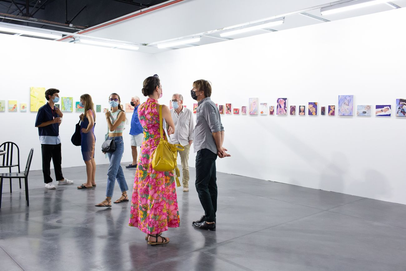 Art-o-rama 2021. Section Dialogue. Photo © Margot Montigny