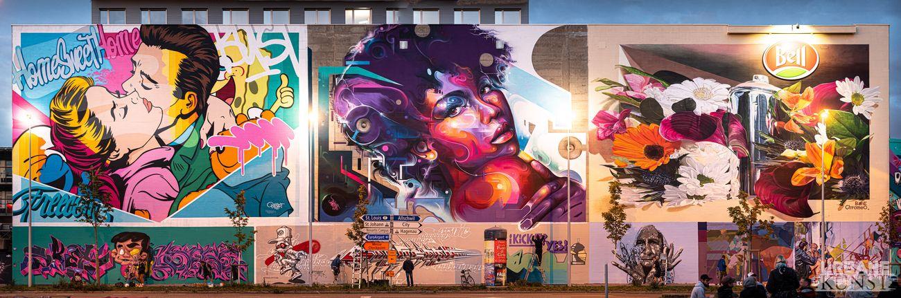 Basilea. Change of Colors, Urban Kunste, 2020