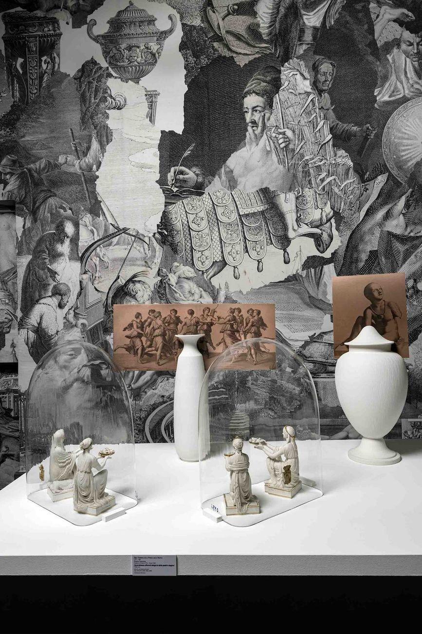 Diego Cibelli. L'Arte del Danzare assieme. Exhibition view at Museo di Capodimonte, Napoli 2021. Photo Luciano Romano. Courtesy Museo e Real Bosco di Capodimonte, Napoli
