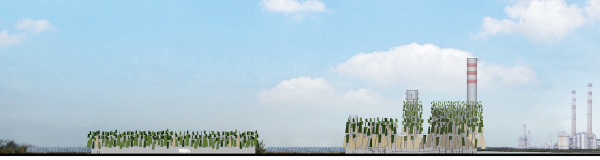 Frigerio Design Group, Centrale ENEL Fusina, disegno