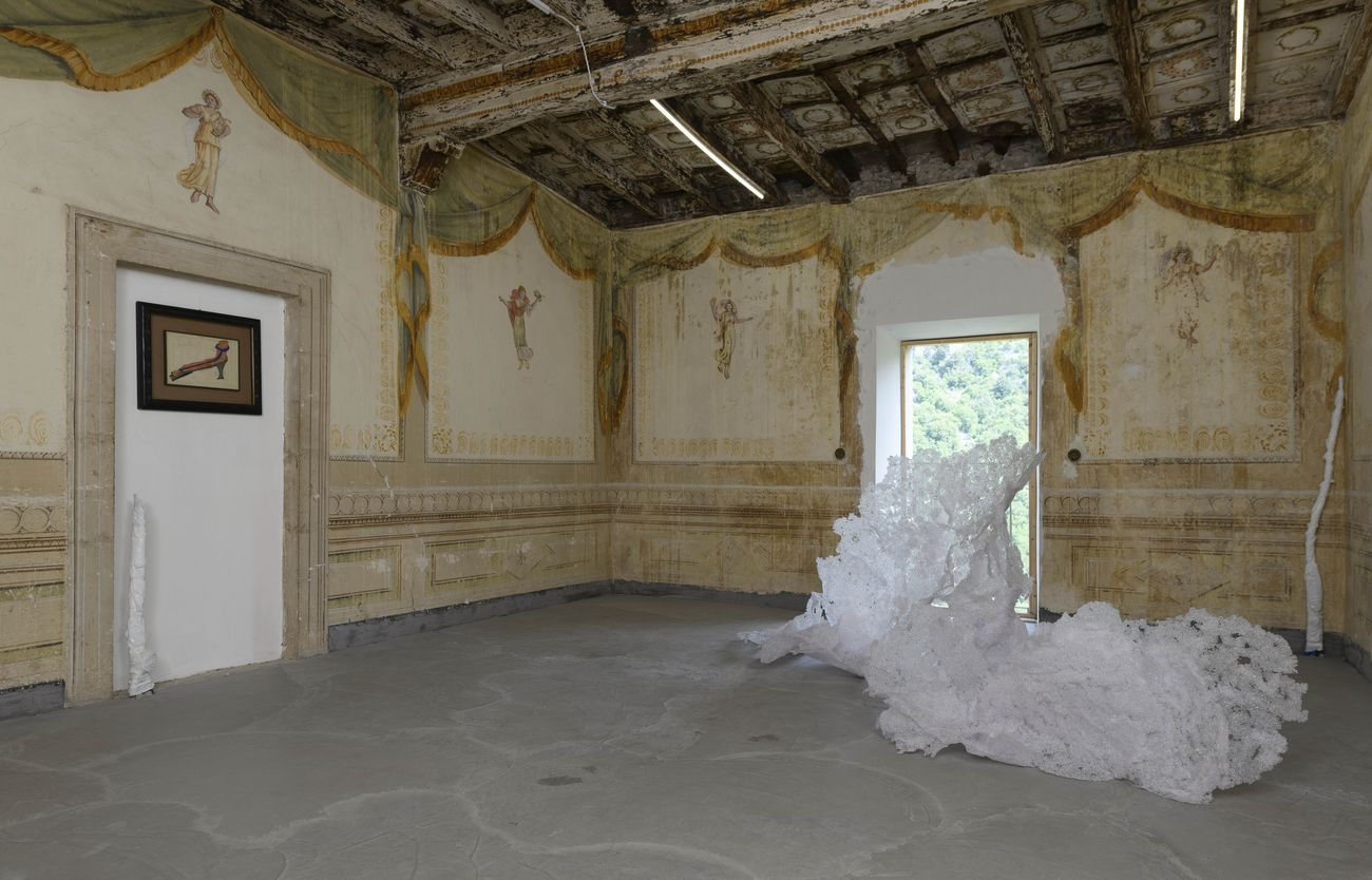 Giulia Poppi, Carol Rama, installation view at Straperetana 2021. Photo Giorgio Benni
