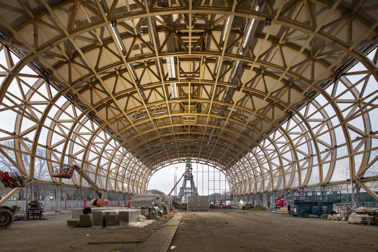 Grand Palais Ephémère, Parigi © Patrick Tourneboeuf pour la Rmn - GP, 2021