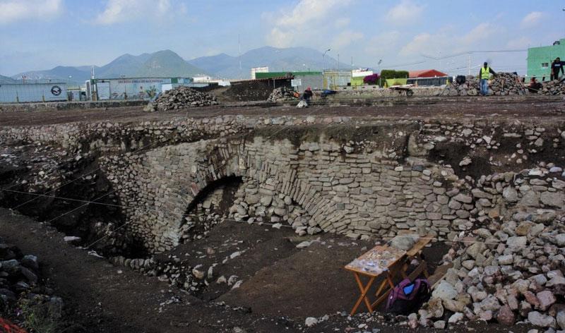 Il sito archeologico destinato alla chiusura fuori da Tenochtitlàn, in Messico