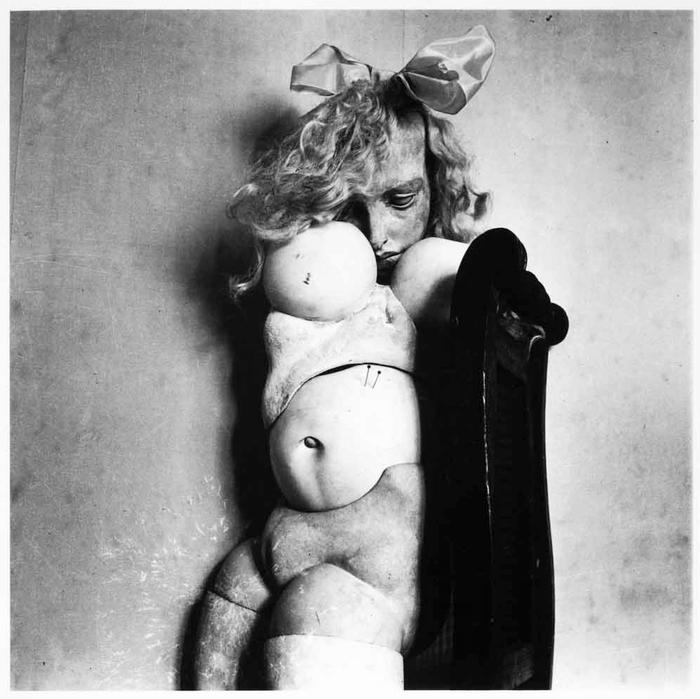La poupèe, Hans Bellmer, 1935. Gift of Mr. Herbert Lust 1987, International Centre of Photography