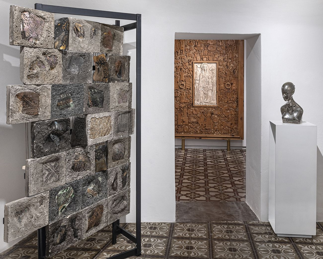 Museo della scultura del '900 sardo. Installation view at Spazio Ilisso, Nuoro 2021, Photo Spazio Ilisso
