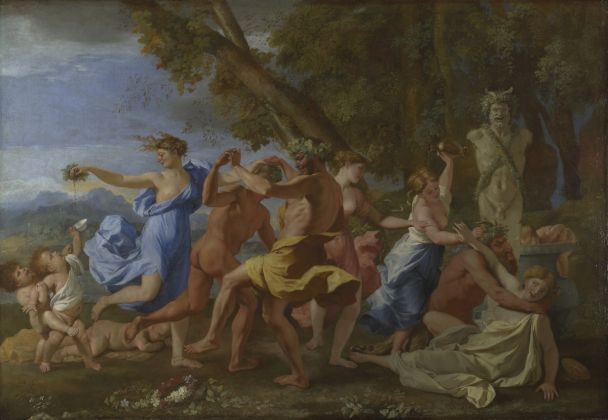 Nicolas Poussin, A Bacchanalian Revel before a Term, 1632 3 © The National Gallery, London