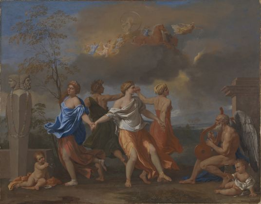 Nicolas Poussin, A Dance to the Music of Time, about 1634 6 © The Trustees of the Wallace Collection