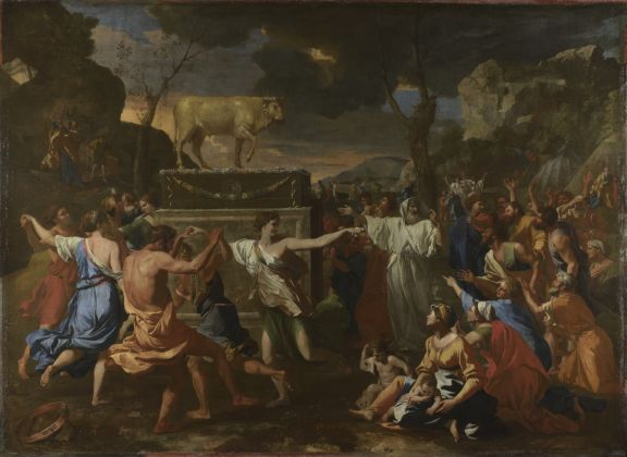 Nicolas Poussin, The Adoration of the Golden Calf, 1633 4 © The National Gallery, London