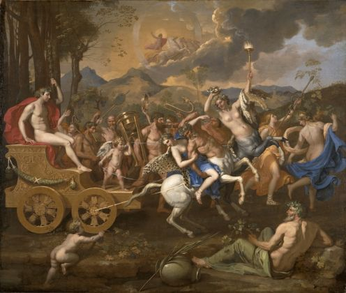 Nicolas Poussin, The Triumph of Bacchus, 1635-6,© Image courtesy of The Nelson-Atkins Museum of Art, Media Services Photo John Lamberton