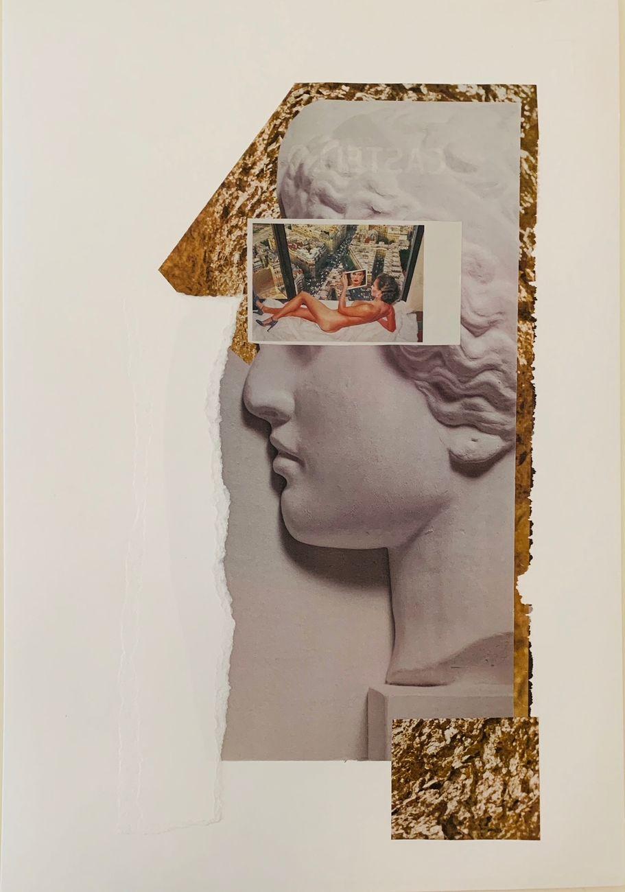 Paola Mancinelli, Il sogno di Era. Installation view at Area Domus, Martina Franca 2021