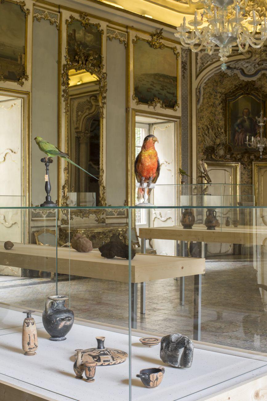 Renato Leotta. Mondo. Museo Archeologico del Reale. Exhibition view at Palazzo Biscari, Catania 2021. Courtesy of the artist. Photo Gabriele Abruzzese