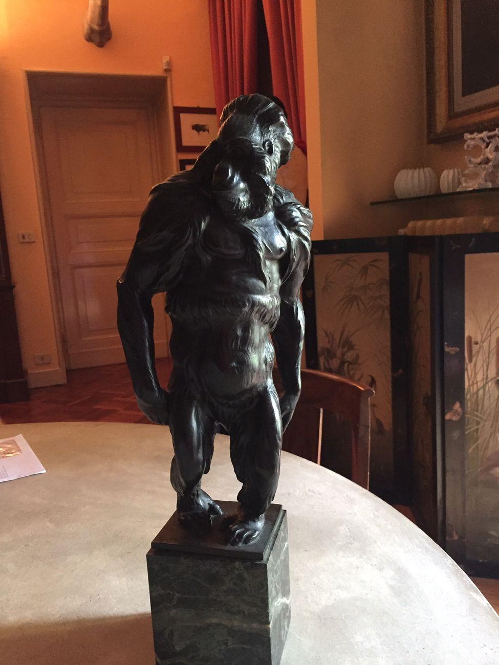 Una scultura di Fiorenzo Giannetti. Courtesy Collezione Sarno