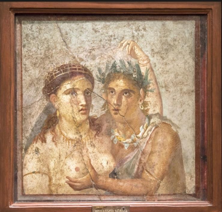 Satiro e Menade -Museo Archeologico di Napoli