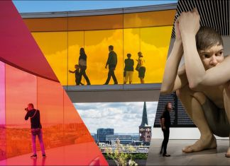 Works from ARoS' collection Olafur Eliasson, Your rainbow panorama_ Ron Mueck, Boy