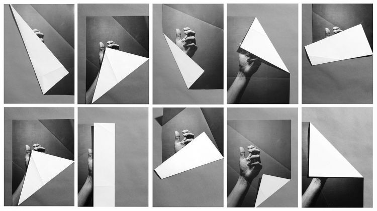 Alexandra Lethbridge, Grid of Hands from the series The Archive of Gesture, 2020