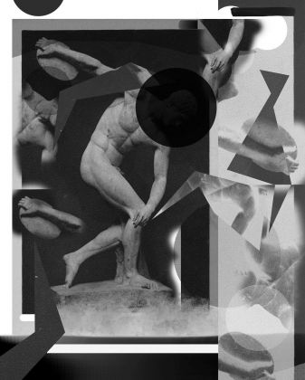 Alexandra Lethbridge, Statue 02 from the series The Archive of Gesture, 2020