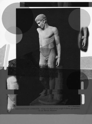 Alexandra Lethbridge, Statue 04 from the series, The Archive of Gesture, 2020