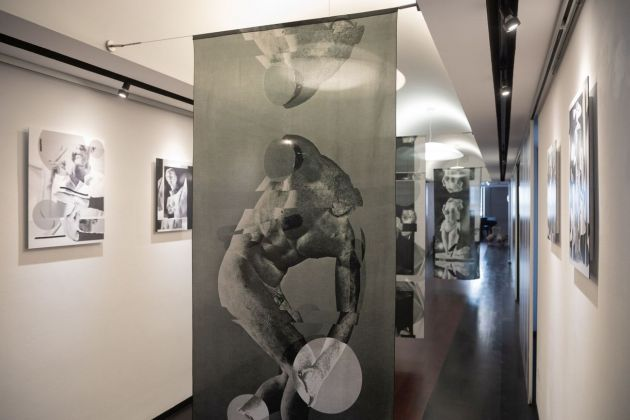 Alexandra Lethbridge. The Archive of Gesture, installation view at Other Size Gallery, Milano 2021, photo Nicola Gnesi
