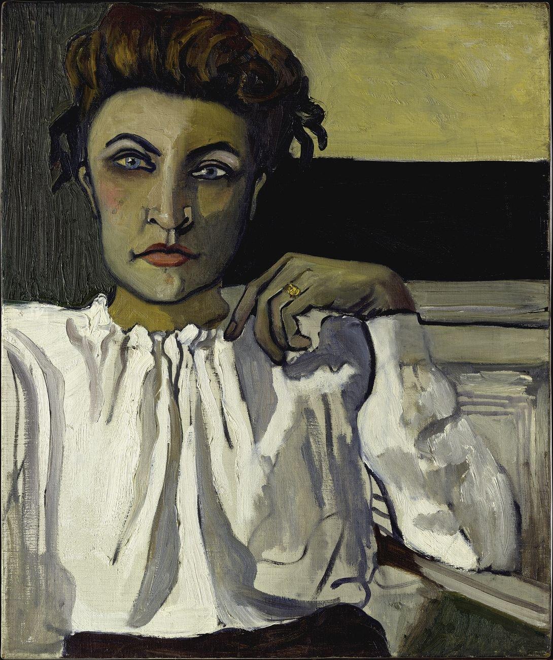 Alice Neel, Elenka, 1936, olio su tela, 61 × 50,8 cm. The Metropolitan Museum, New York, donazione di Richard Neel e Hartley S. Neel, 1987 © The Estate of Alice Neel, Bilbao, 2021