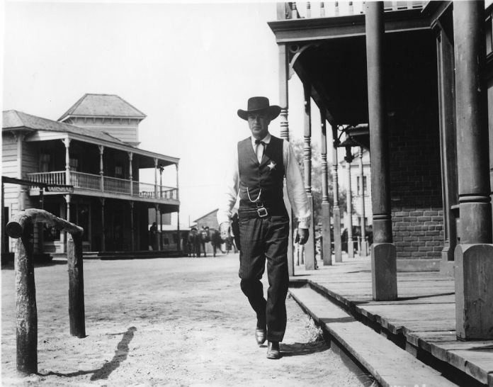Columbia Ranch 1951 'High Noon' with Gary Cooper and Grace Kelly