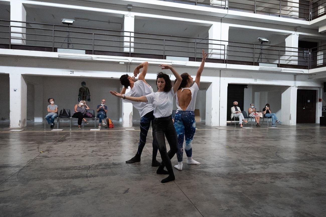 Cristina Kristal Rizzo, Echoes. Photo Daniele Mantovani