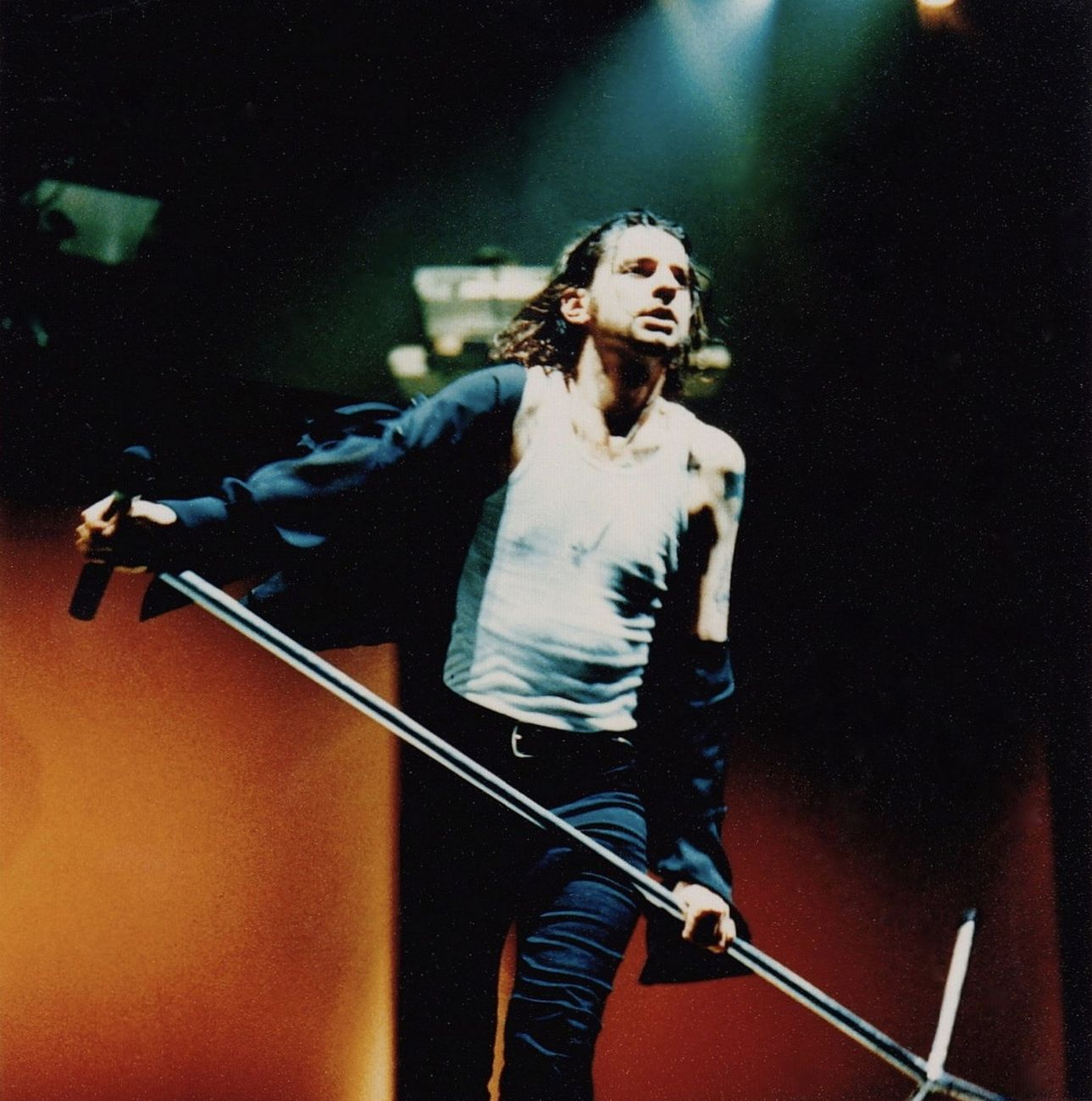 Dave Gahan nel Devotional Tour dei Depeche Mode (1993)