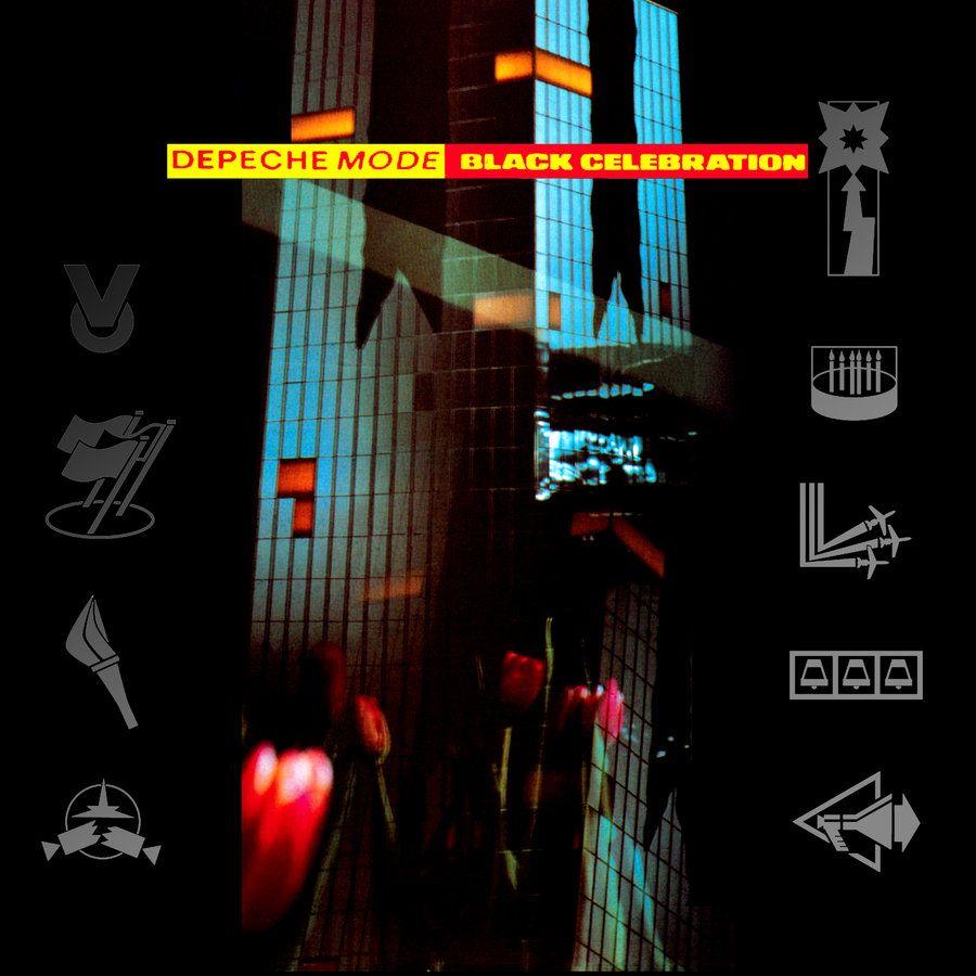 Depeche Mode, Black Celebration (1986), copertina dell'album