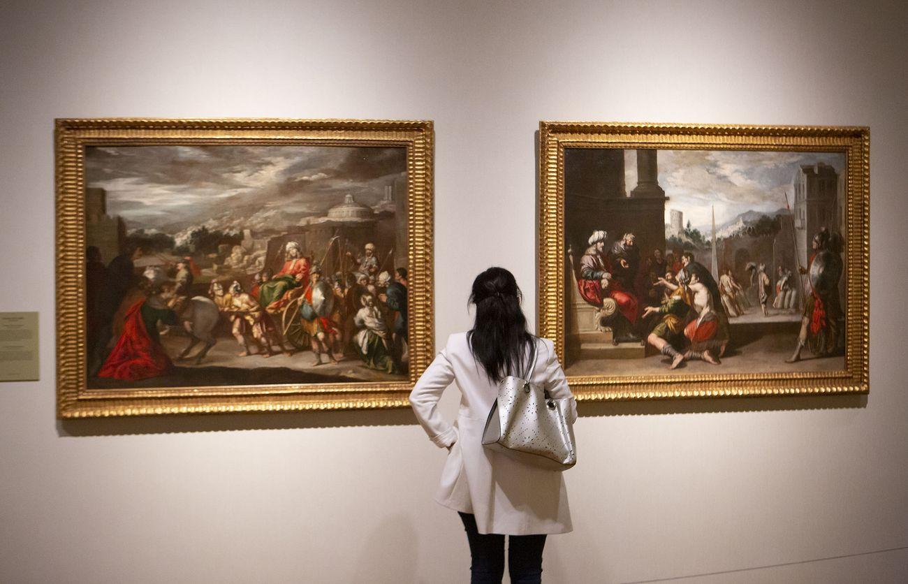 El hijo Pródigo de Murillo y el arte de narrar en el Barroco andaluz. Exhibition view at Museo Nacional del Prado, Madrid 2021. Photo © Museo Nacional del Prado