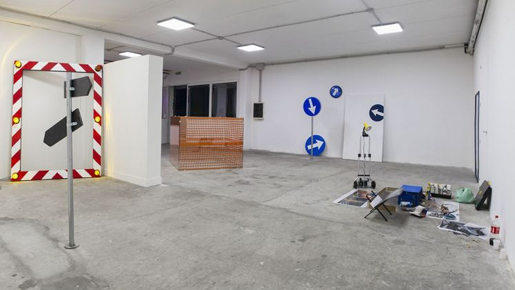 From Tor Bella With Love. Installation view at Spazio In Situ, Roma 2020. Photo Marco De Rosa