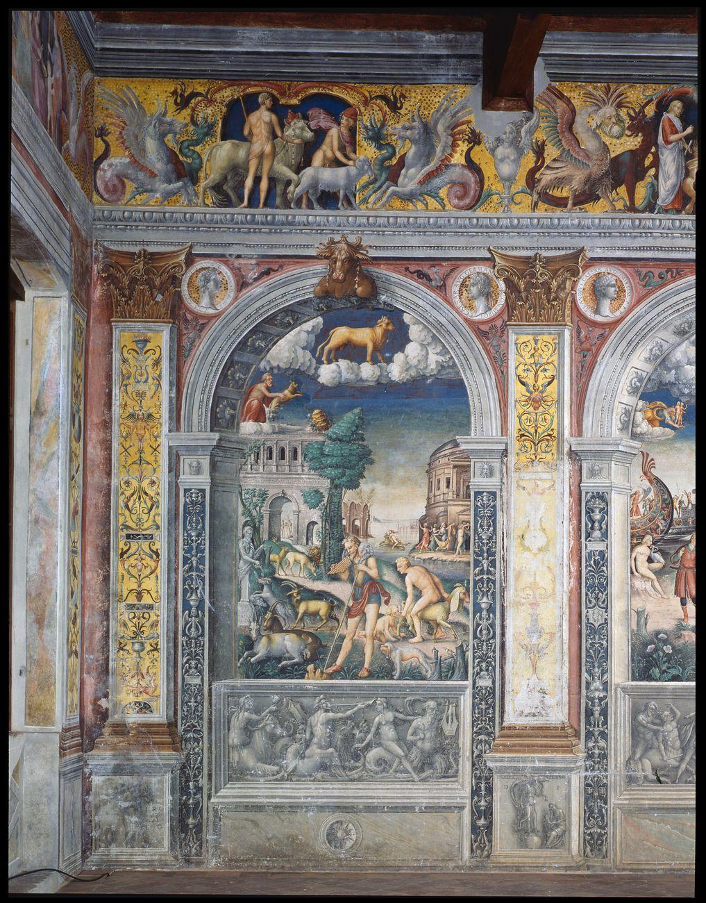 Giovanni Maria Falconetto, Sala dello Zodiaco, Palazzo d'Arco, Mantova. Courtesy Fondazione d'Arco