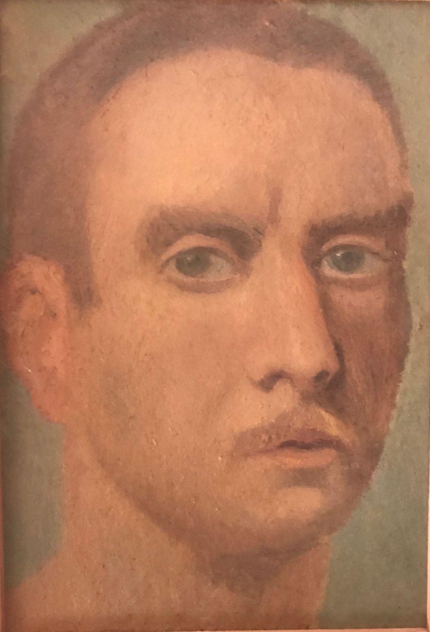 Guglielmo Janni, Autoritratto. Roma, Sovrintendenza Capitolina ai Beni Culturali Museo della Scuola Romana. Comodato Bertolami