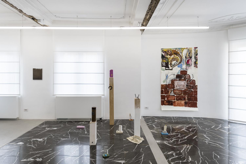 HIC. Exhibition view at z2o Sara Zanin Gallery, Roma 2021
