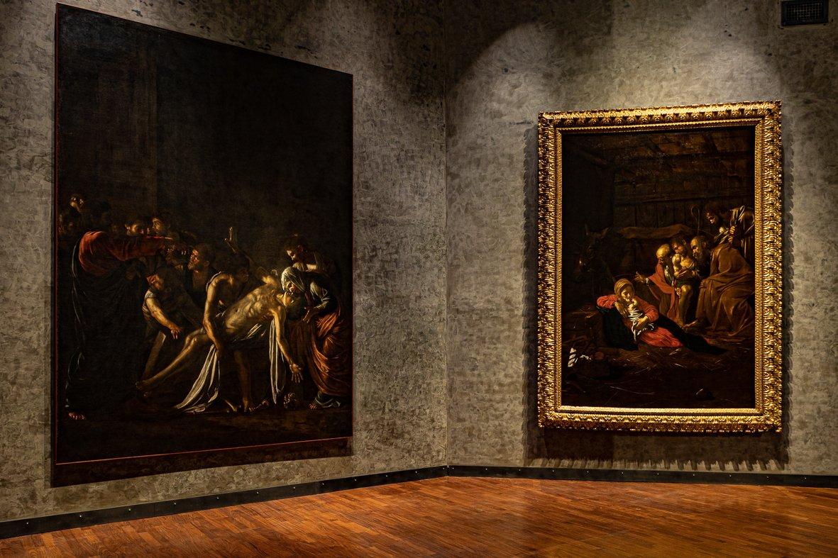 I due Caravaggio esposti al MuMe di Messina