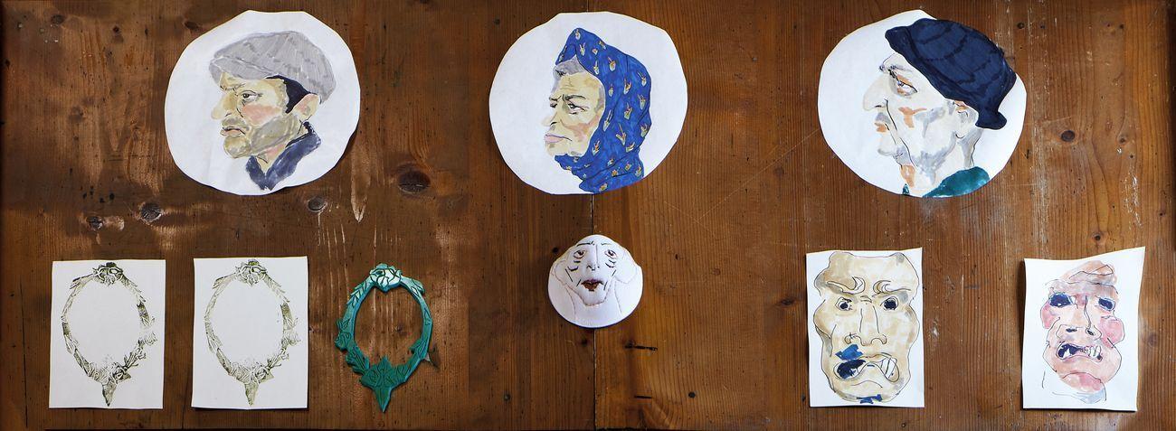 Inventario Varoli – dalla copia all'ombra. Museo Civico Luigi Varoli, Cotignola. Opera di Susana Ljuljanovic. Photo Daniele Casadio