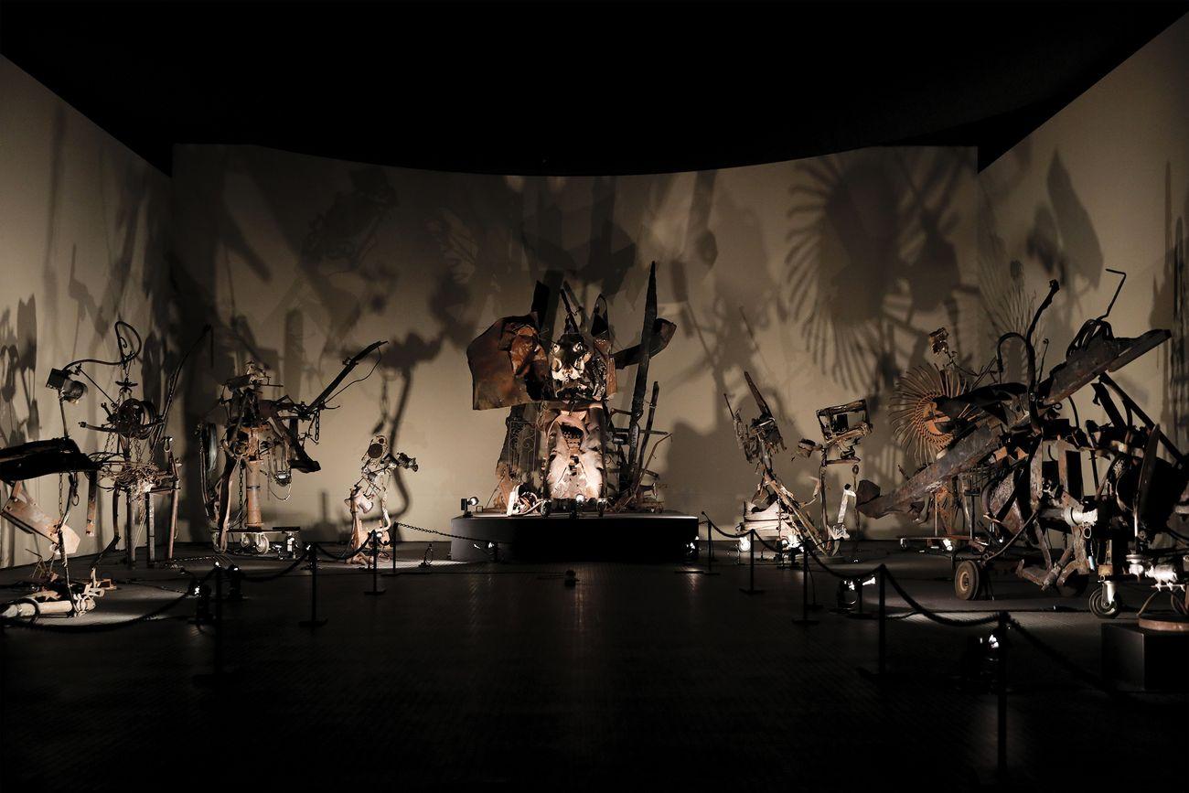 Jean Tinguely, Mengele-Dance of Death, 1986. Tinguely Museum, Basel, 2021. Photo © Francesca Pompei