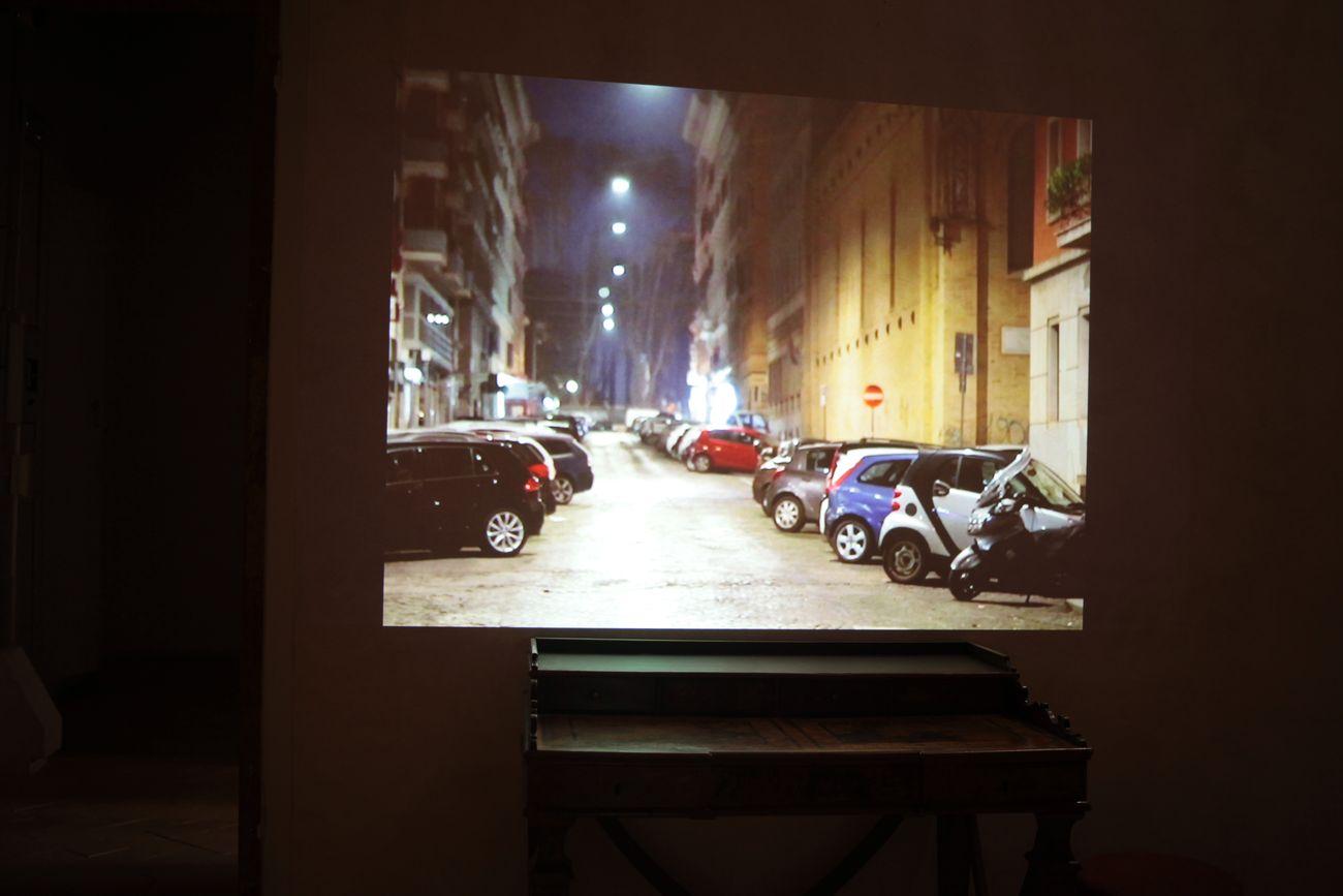Josè Angelino, Roma by led, 2019 21, video still. Photo Eleonora Cerri Pecorella
