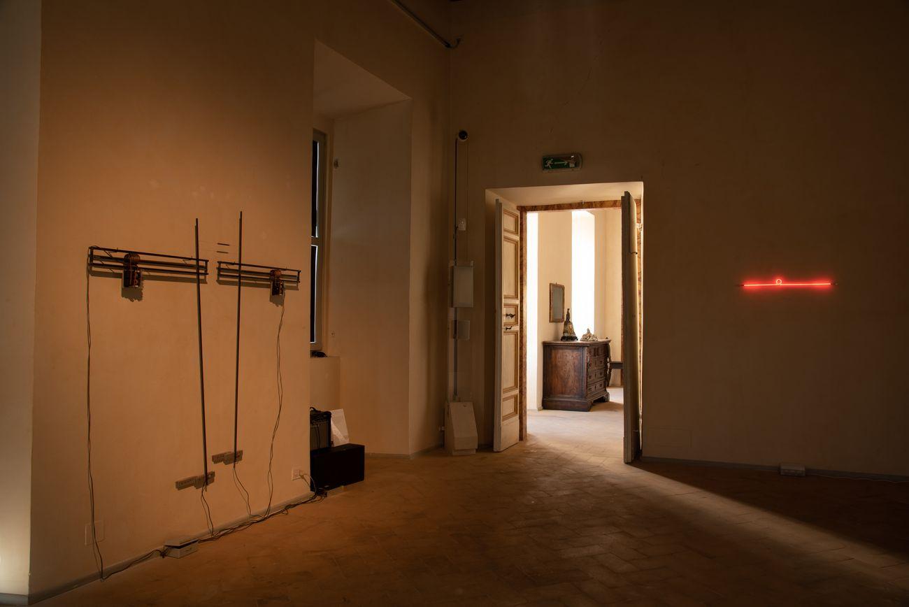 Josè Angelino. Resistenze. Installation view at Palazzo Collicola, Spoleto 2021. Photo Eleonora Cerri Pecorella